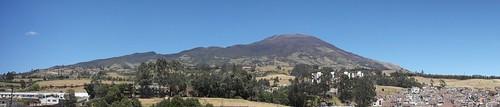 pasto panorámica volcán