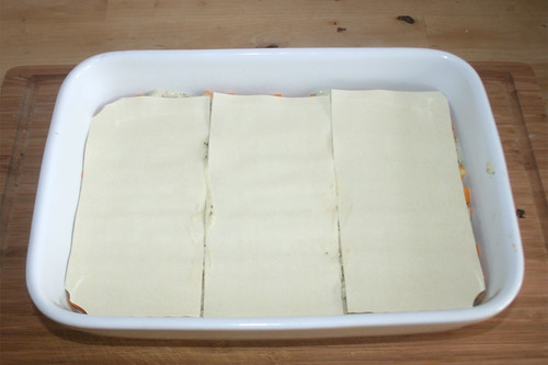 36 - Lasagneplatten addieren / Add more lasagna sheets