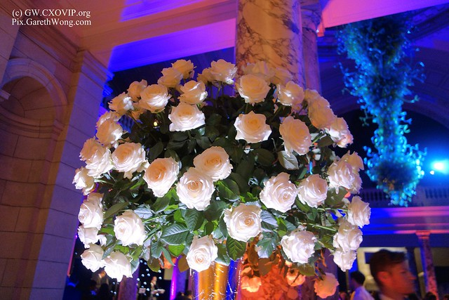nice flowers at @AlixPartnersLLP 10yrs anniversary party at Victoria & Albert Museum _DSC4848
