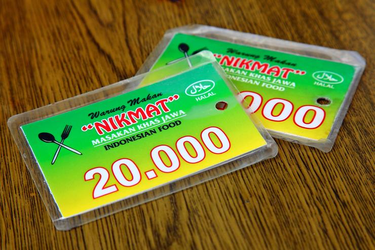 Warung Nikmat Price-Card