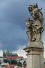 先生,您有事嗎? ~ Czech Prague , 聖 安娜 Sv. Anna  of Karlův most  (查理大橋 ) ~ by PS兔~兔兔兔~