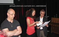 12 KAVAFIS, ΦΩΝΕΣ-STEMMEN, ARTANDLANGUAGE in PERDU, AMSTERDAM, nr12