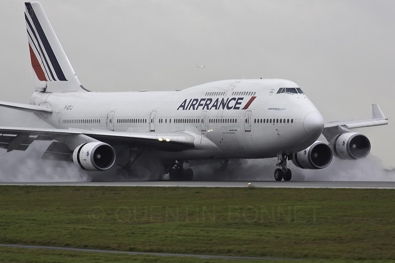 Air France Boeing 747-428 F-GITJ