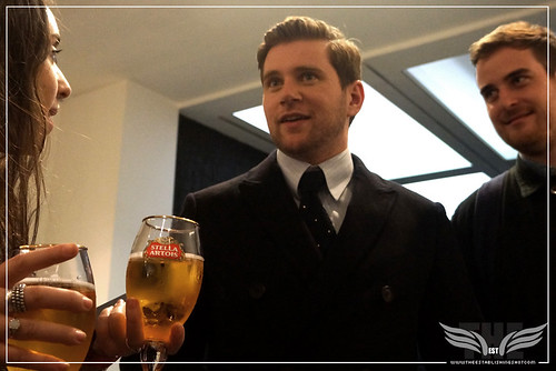 The Establishing Shot: IN FEAR PREMIERE - STAR ALLEN LEECH ABOUT TO SURPRISE A FAN @ THE ICA PRESENTED BY STELLA ARTOIS by Craig Grobler