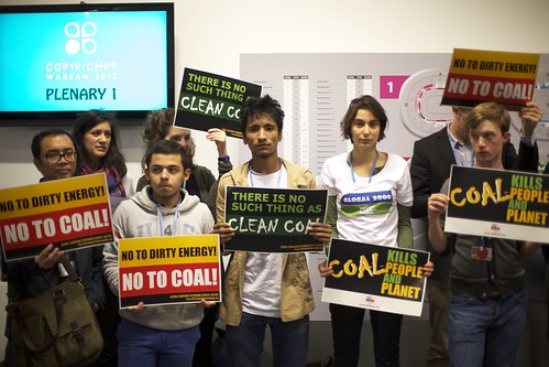 Kick coal out of the climate talks, Warsaw