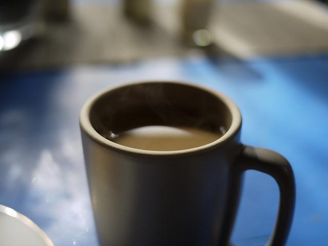 Coffee with Heath Ceramics