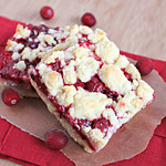 Cranberry Lemon Squares