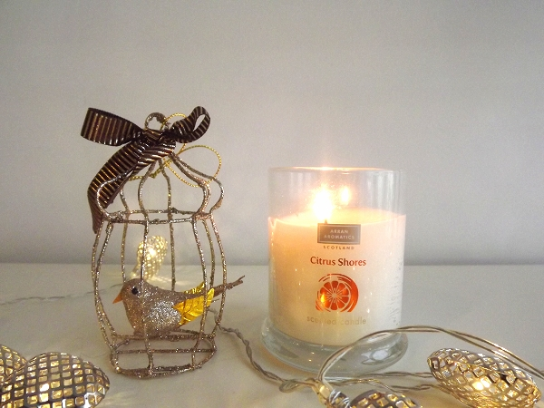 Arran Aromatics Citrus Shores Luxury Scented Candle