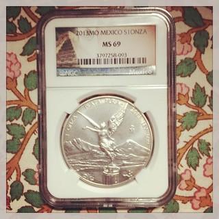 Libertad silver coin