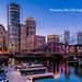 Boston Skyline Sunset – A Different View