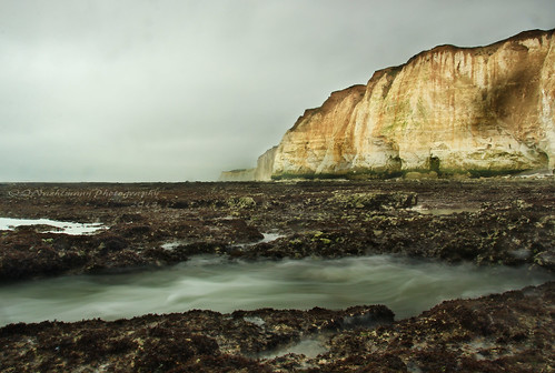 longexposure sussex newhaven lowtide whitecliffs englishchannel chalkcliffs