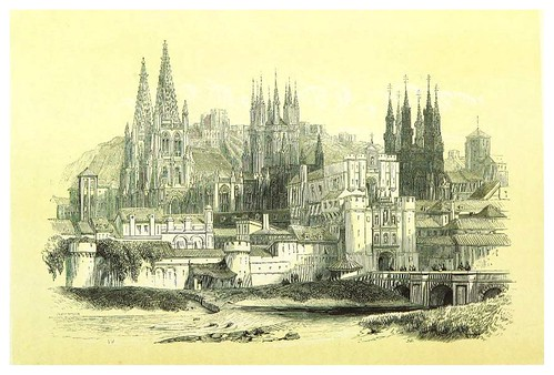 001-Burgos-La Spagna, opera storica, artistica, pittoresca e monumentale..1850-51- British Library