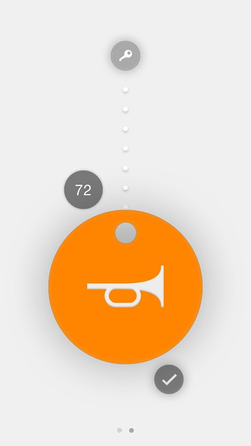 Chipolo iOS App - Range Meter