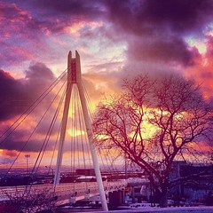 The clouds dancing above campus at sunset. #BeautifulU #UofU #SLC #Utah