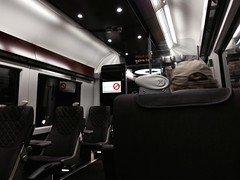 First class car of Heathrow Express