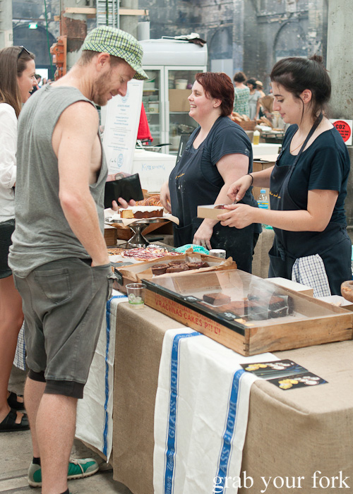 Nadine Ingram from Flour and Stone at the Sunday Marketplace, Rootstock Sydney 2014