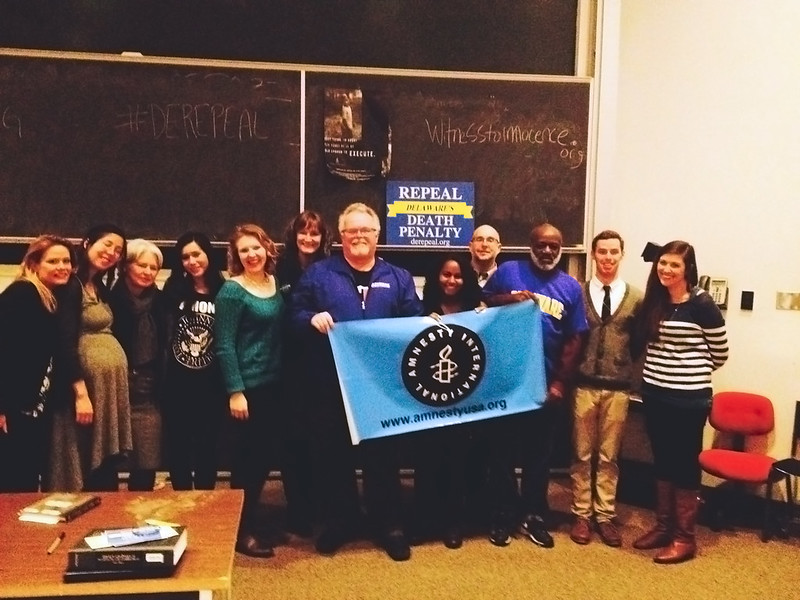 Death penalty exonerates advocate for abolition, call Delaware to action