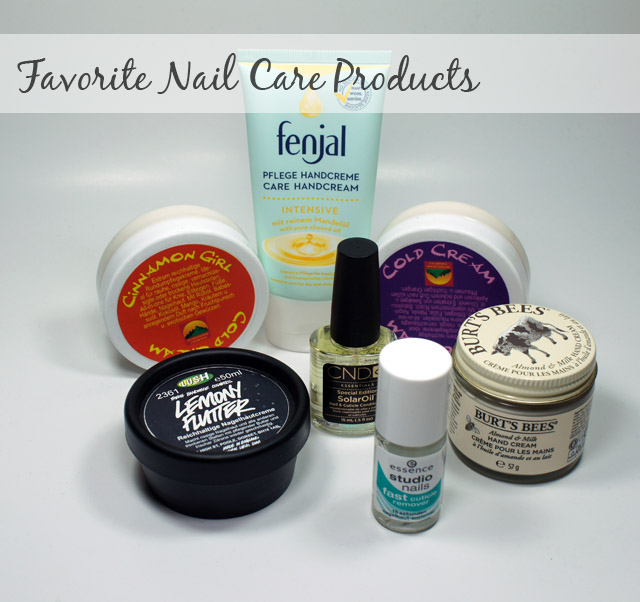 Hand and Nail Care Products