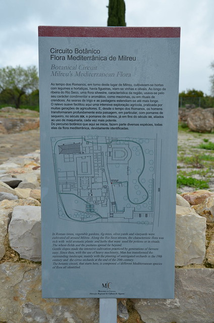 The Roman Ruins of Milreu, a luxurious rural villa, transformed into a prosperous farm in the 3rd century, Portugal