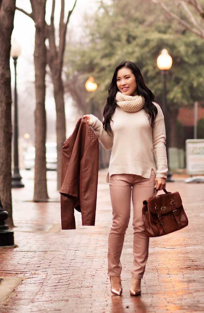 How To Wear Blush Colored Shoes