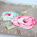 English Rose oilcloth