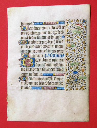 manuscript book of hours