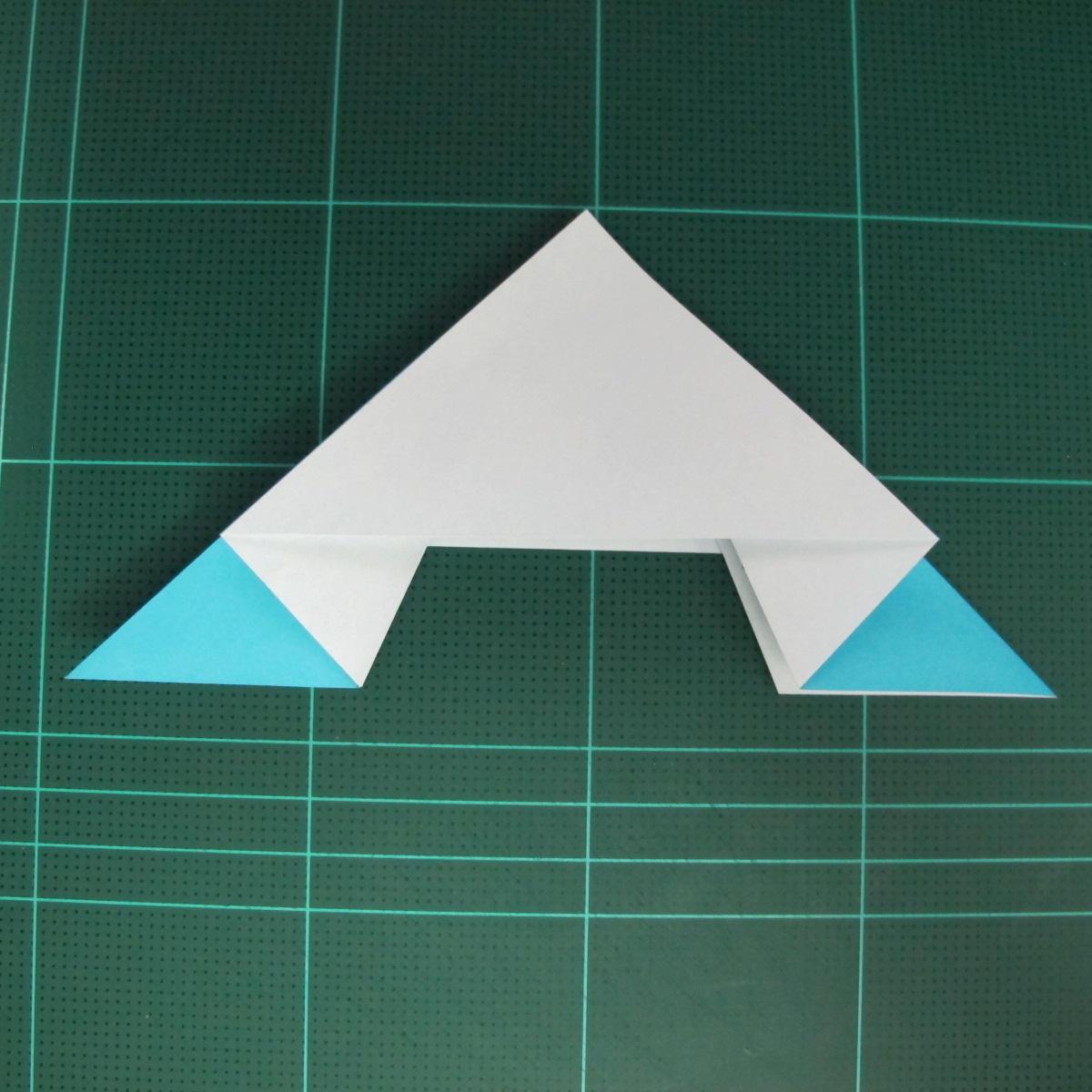 การพับกระดาษเป็นรูปตัวเม่นแคระ (Origami Hedgehog) 016