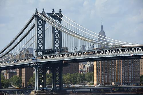 Picture Of The Manhattan Bridge Taken From Brooklyn. Photo Taken Sunday July 14, 2013