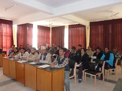 Participants at the Mgmt. Workshop with Kathmandu University