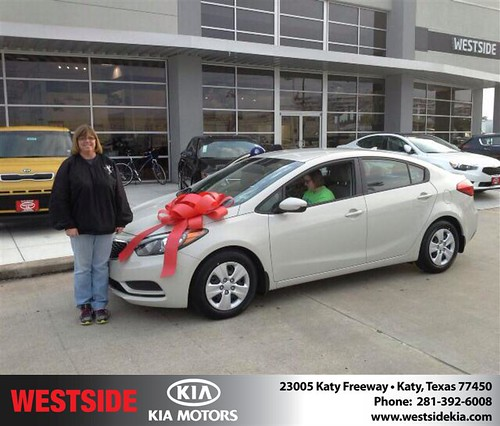 Thank you to Deauna Bostick on your new 2014 #Kia #Forte from Rick Hall and everyone at Westside Kia! #NewCar by Westside KIA