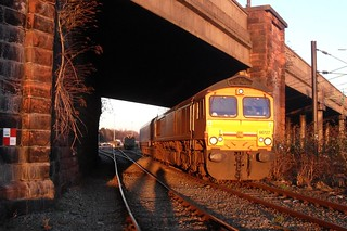66727, Tuebrook Sidings, 11th March 2014.