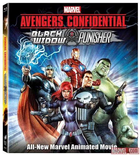 140312(3) - 9支預告大公開、日製漫威動畫《Avengers Confidential: Black Widow & Punisher》於25日首賣!