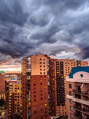 Stormy Ballston Sunset