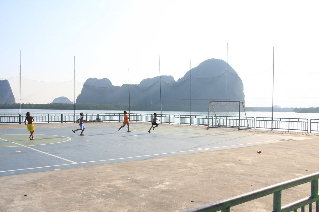 Football stadium, Ko Panyi - Phang Nga