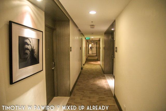 Asia - Philippines - Cebu - Quest Hotel - The hallway