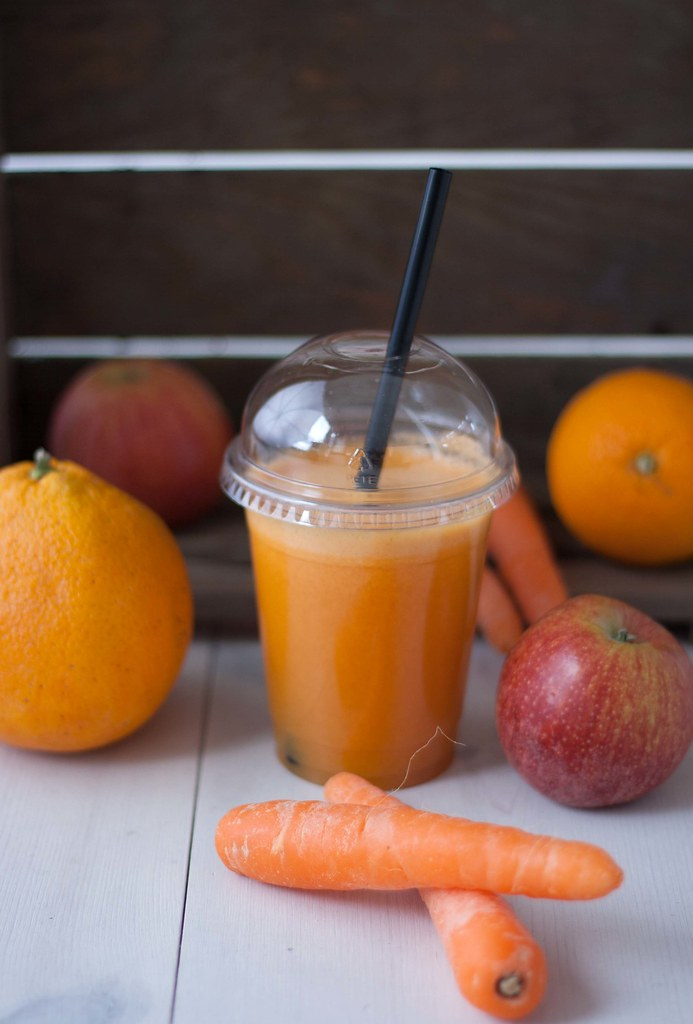 Gulerodsjuice med æble og appelsin (8)