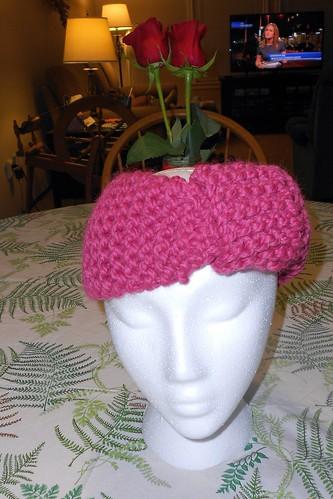 FO: Knit Headwrap