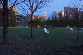 Walker Art Center at dusk