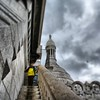 @jackkaufmann #paris stairs on roof of #BasilicaSacreCoeur #stuckinalecture  #iambored