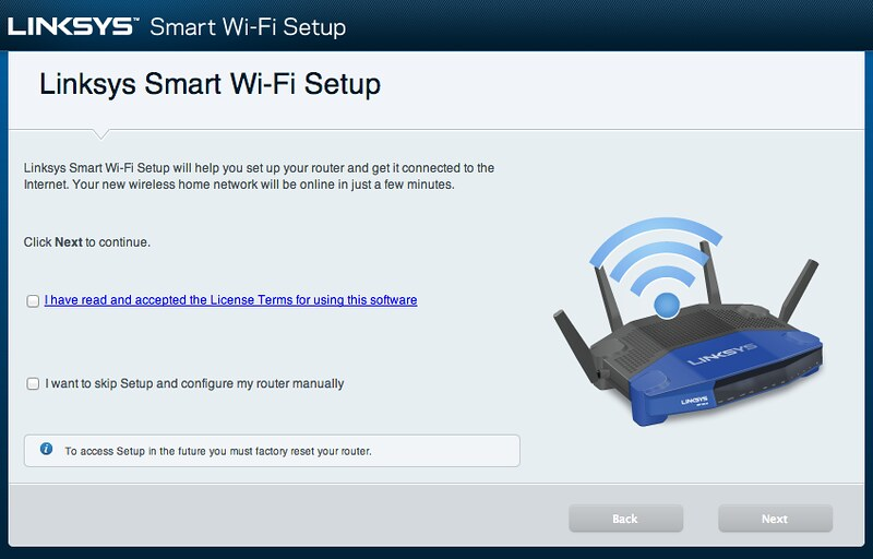 Linksys Smart Wi-Fi - Setup #1