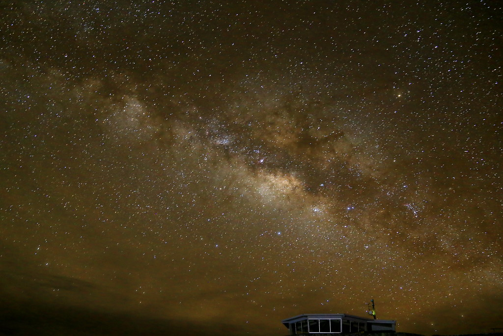 The Milky Way at Haleakalā Crater