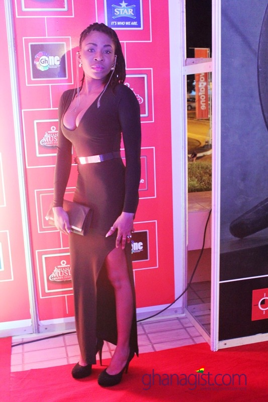 AK Songstress at 2014 Ghana Music Awards
