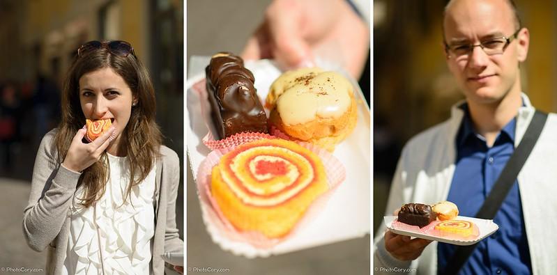 Cakes in Verona