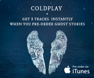 Coldplay ad banners