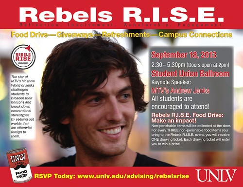 Rebels RISE - 9.18.13 - Andrew Jenks