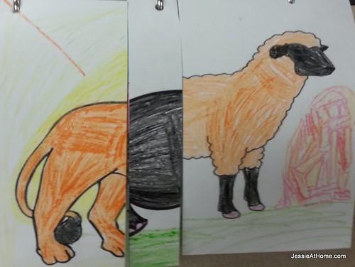 Daisy-Animal-Flip-Books-Silly-Animal