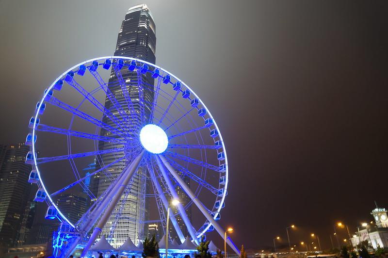 Hong Kong Observation Wheel - best for kids