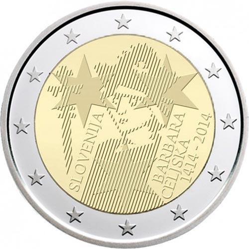 *2 Euro Slovinsko 2014, Barbara Celjska