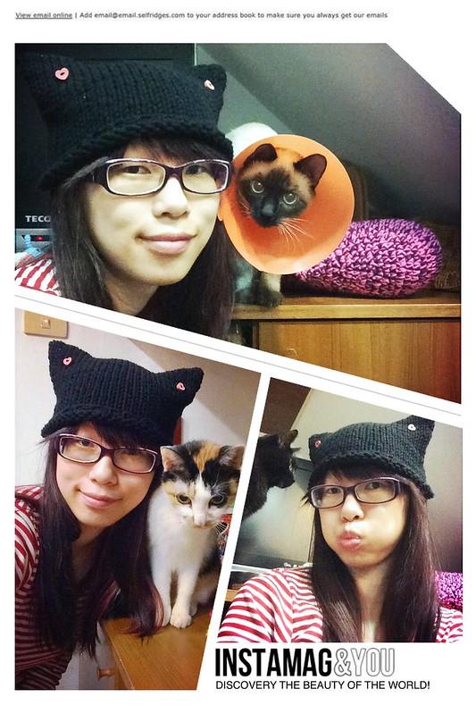 貓耳朵帽子