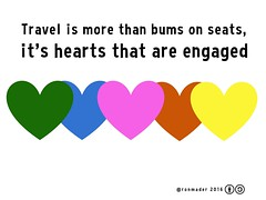 Travel is more than bums on seats, it's hearts that are engaged #rtweek16